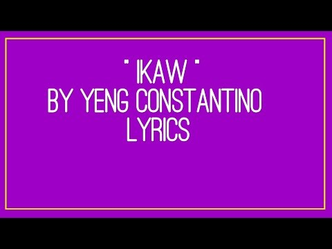 Vote No on : IKAW By: Yeng Constantino with Lyrics