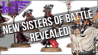 New Sisters Of Battle Models Revealed, Including... The MEGA PULPIT
