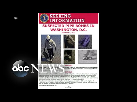 FBI increases reward to $75,000 for suspect who placed pipe bombs at RNC, DNC | WNT
