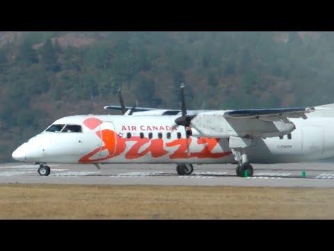 Air Canada Express Dash-8 Q300 Takeoff