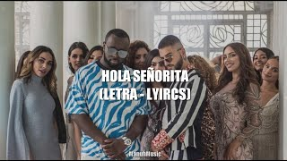 Hola Señorita (Maria) - (LETRA/LYRICS) - (ESPAÑOL)  - GIMS & Maluma