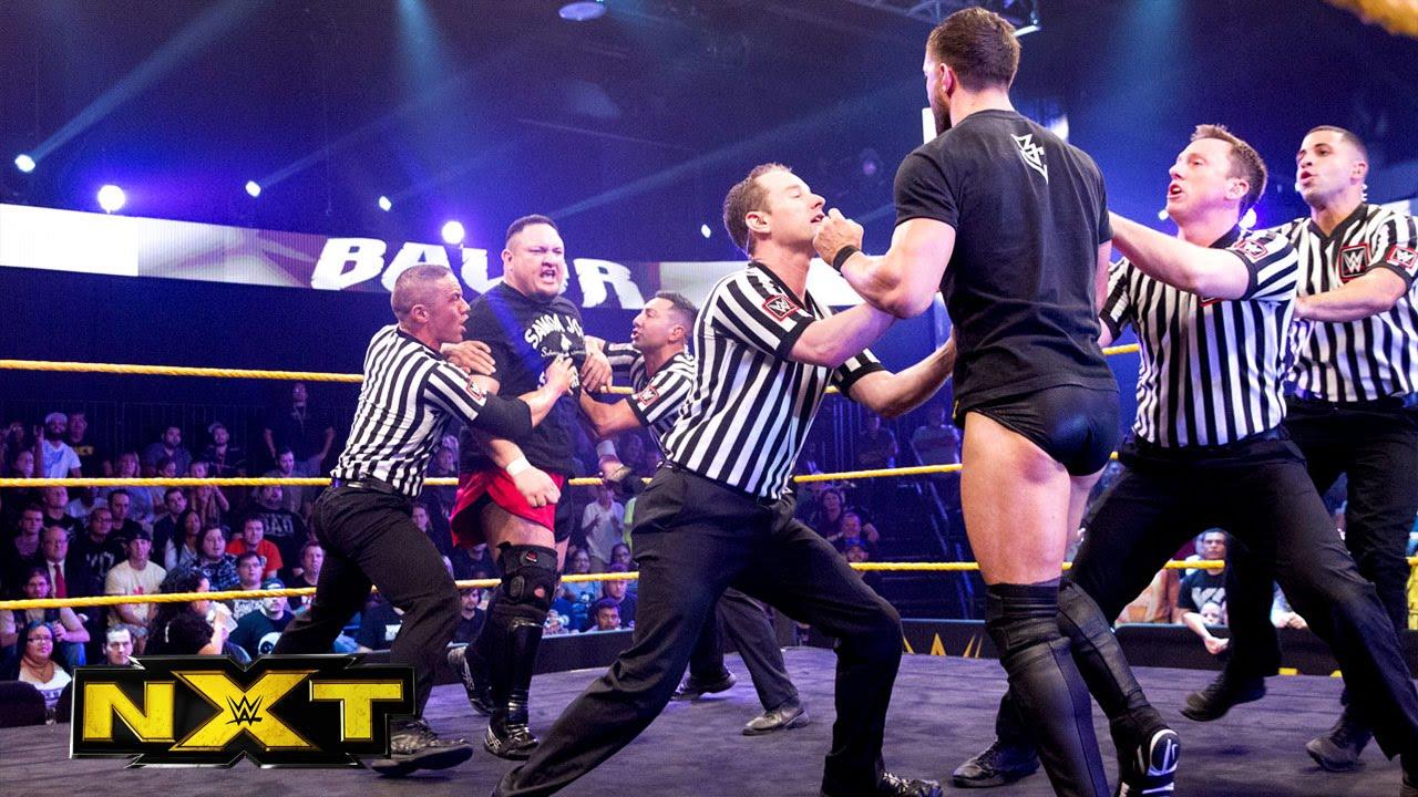 Samoa Joe explains why he attacked Finn Bálor: WWE NXT, November 11, 2015
