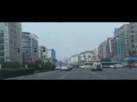 Driving around Guilin City China