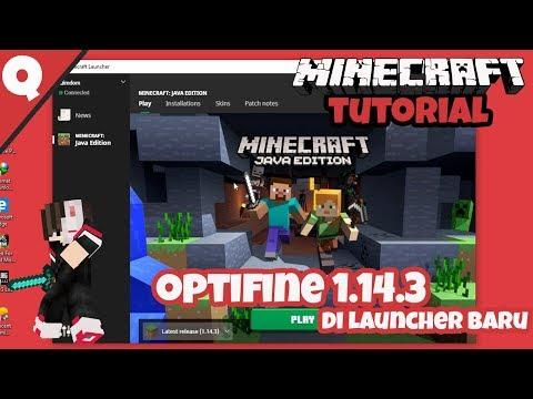 Cara Memasang Optifine Di Launcher Baru Minecraft Original !!!