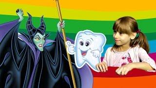 У Маши Выпал Зуб Малефисента украла Зуб Зубная Фея Сказка для Детей Видео для Детей Новая Серия