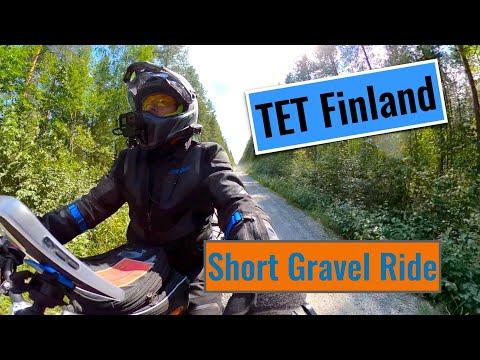 Two days ride in the TET Finland Western track #KTM790 #TETFinland #gopro