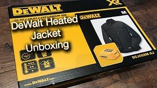 Dewalt Heated Jacket DCJ069 Unboxing (4K)