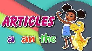 Articles A, An and The | English Grammar For Kids with Elvis | Grade 1 | #5