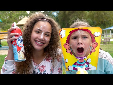 Thumbnail: The Whipped Cream Challenge! (Haschak Sisters)
