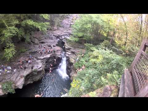 Cliff Jumping at Scranton with the GoPro