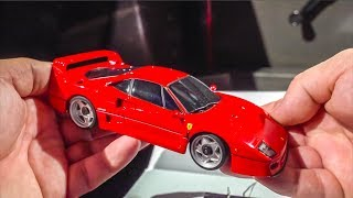 Awesome RC Car gets unboxed in a real FERRARI F40!