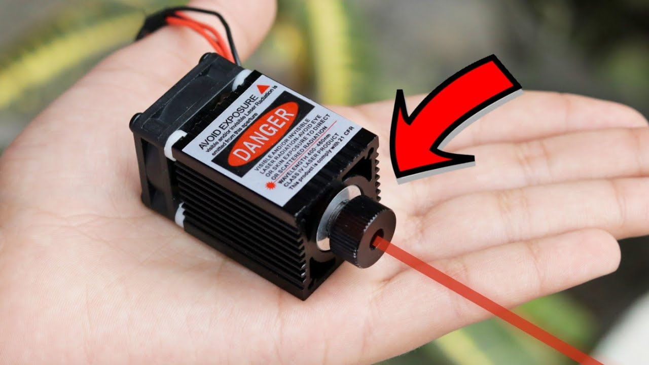 WOW! Amazing Mini Laser Engraving Machine for DIY Projects