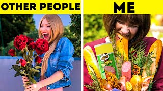 OTHER PEOPLE VS ME! || 35 FUNNY MOMENTS WITH DIFFERENT TYPES OF PEOPLE