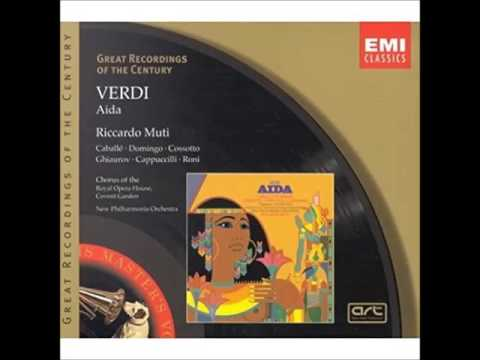 Aida Verdi Michael Oliver (Record Review) 1997