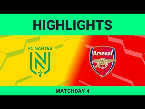 FC Nantes vs Arsenal FC | Highlights Matchday 4 eFootball.Pro 2019-2020