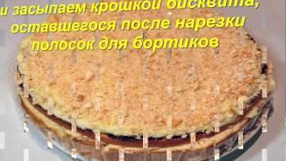 Рецепт - Торт с целыми бананами, без выпечки