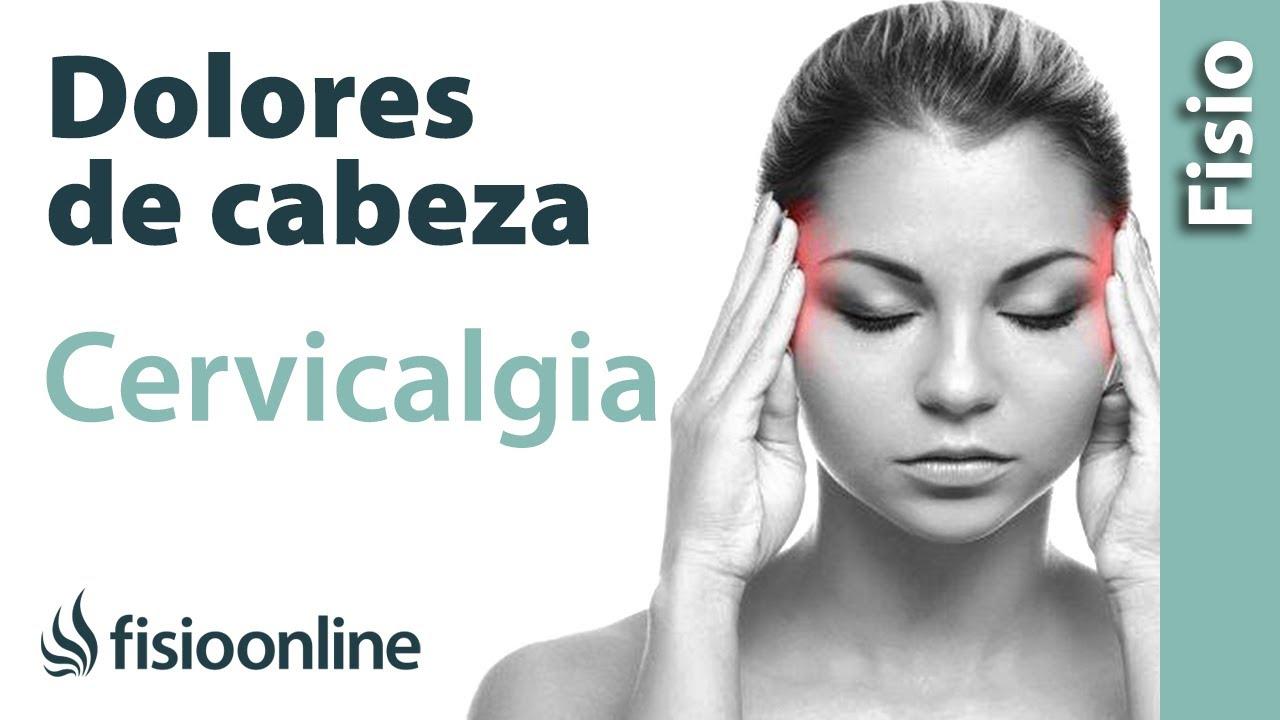 Dolor de cabeza náuseas dolor en el cuello