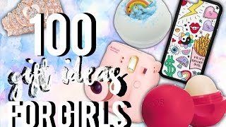 100 Gift Ideas for Girls!| | Christmas and Birthday| Gift Guide for Teen Girls| Courtney Graben