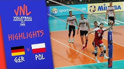 GERMANY vs. POLAND - Highlights Men | Week 5 | Volleyball Nations League 2019