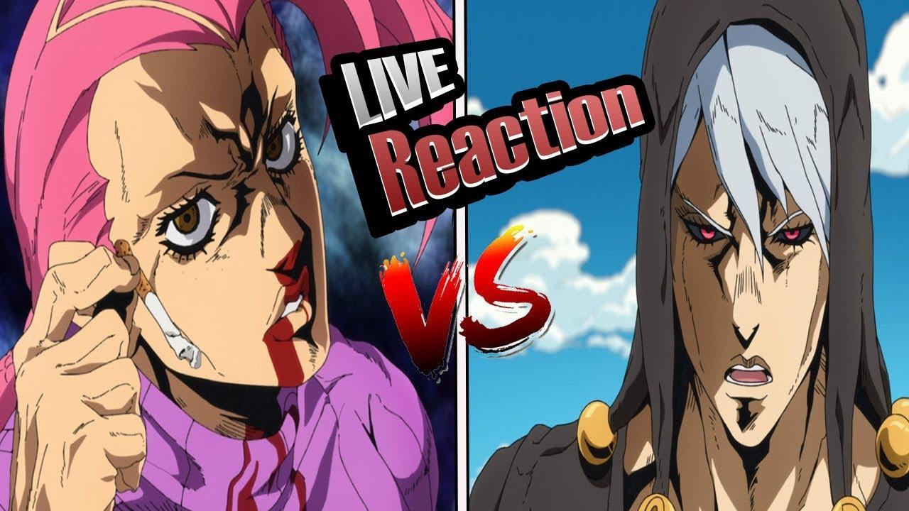 Download JoJo's Bizarre Adventure Part 5: Golden Wind Episode 27 Live Reaction   Doppio vs Risotto!