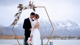 Wedding At The Waters Edge - Vinyard Lake, Utah