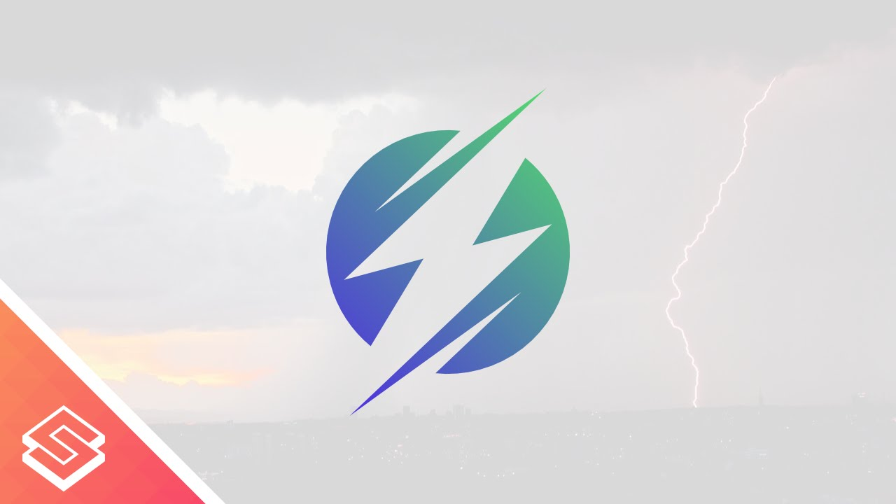 inkscape tutorial lightning bolt logo design youtube
