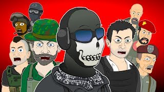 ♪ CALL OF DUTY MODERN WARFARE MUSICALS - Animated Songs
