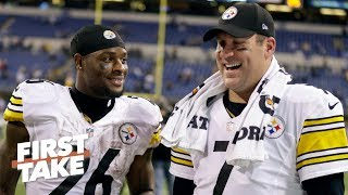 Le'Veon Bell's criticism of Ben Roethlisberger is completely unnecessary - Stephen A. | First Take