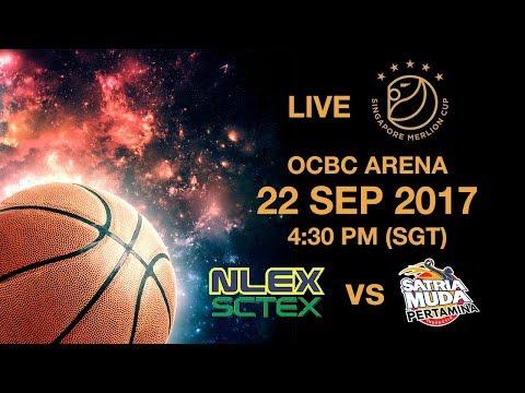 Basketball 🏀 Satria Muda Pertamina 🇮🇩 vs 🇵🇭 NLEX-SCTEX  | Singapore Merlion Cup 2017