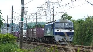 2019/06/10 JR貨物 離合を免れた2本の貨物列車 1060レと1071レ