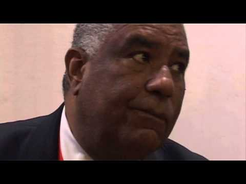 John Lynch, Director of Tourism, Jamaica @ ITB Berlin 2011
