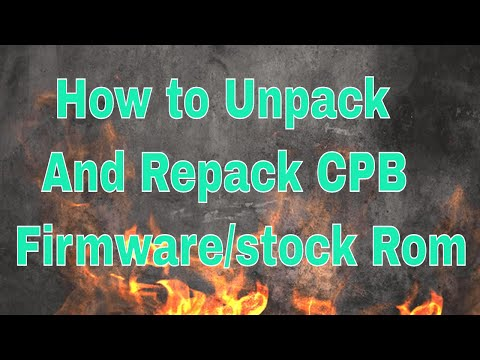 Repeat How to extract CPB Firmware from CPB file an get all