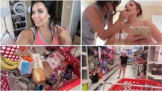 Shopping at Target & New Vanity   July 17 & 18, 2015