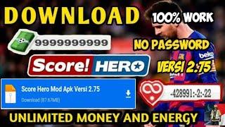 DOWNLOAD SCORE HERO MOD APK VERSI 2.75 TERBARU 2021 NO PASSWORD screenshot 1