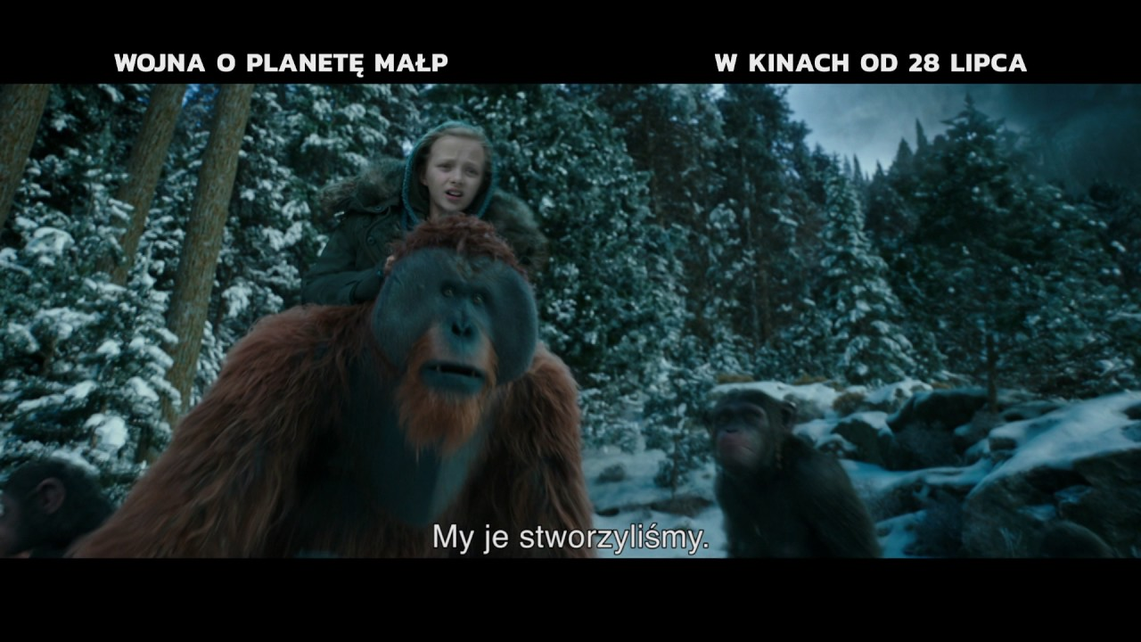 Wojna o planetę małp | TV Spot [#3] | 2017