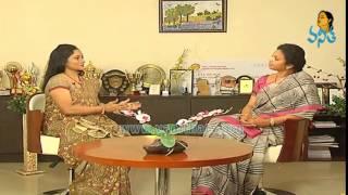 Kurnool MP Butta Renuka Interview - Chatta Sabhallo Vanitha