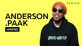 "Anderson .Paak ""Bubblin"" Official Lyrics & Meaning 