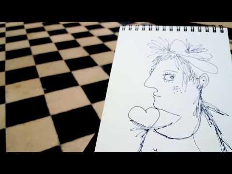 Dessin DIP drawing Saint-Merri Paris ALLIRAND Beaubourg Pompidou musée exposition exhibition