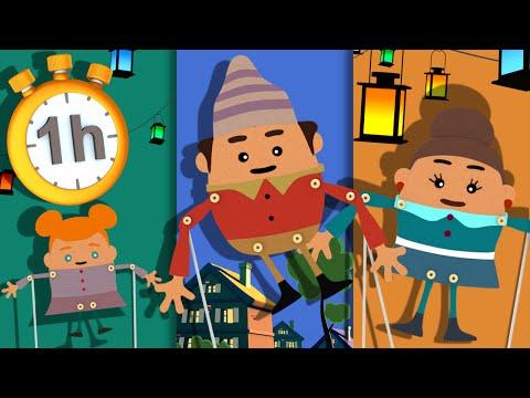 Ainsi Font Font Font les Petites Marionnettes + 1h de Chansons