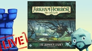 Arkham Horror: The Card Game - Solo Play with Zee