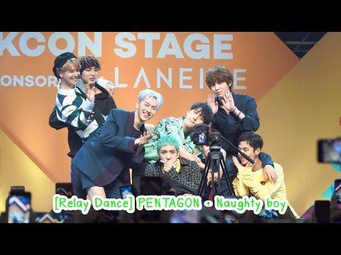 180930 [Relay Dance] PENTAGON - Naughty boy @ [KCON 2018 THAILAND] STAR Live Talk X M2