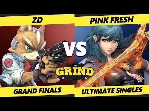 The Grind 112 Grand Finals - ZD [L] (Wolf, Fox) Vs. Pink Fresh (Byleth) Smash Ultimate - SSBU