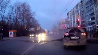 Взрыв на светофоре