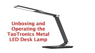 TaoTronics Metal Desk Lamp LED