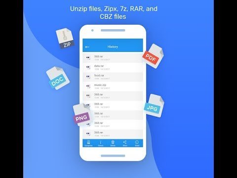 How To Unzip Files In Android?