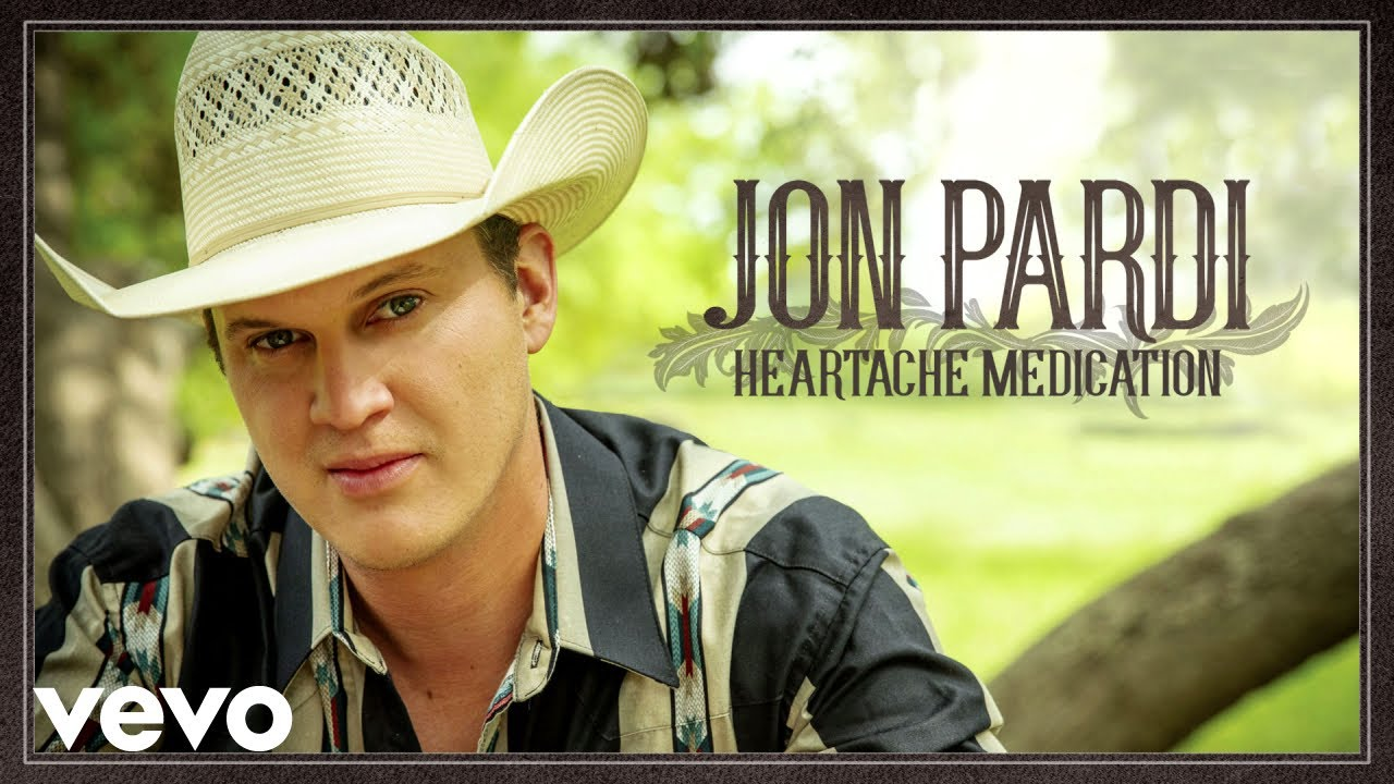 "Jon Pardi Announces New ""Heartache Medication"" Album, Single"