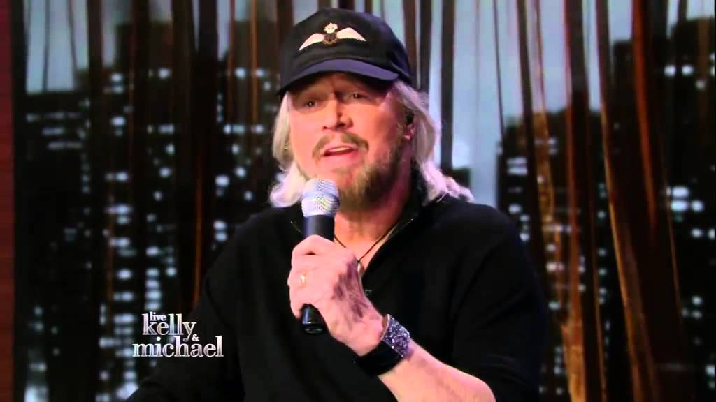 Barry Gibb on Kelly & Michael 30/01/2014 - Medley - YouTube