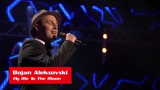 "Bojan Aleksovski: ""Fly Me To The Moon"" - The Voice of Croatia - Season 1 - Blind Auditions 1"