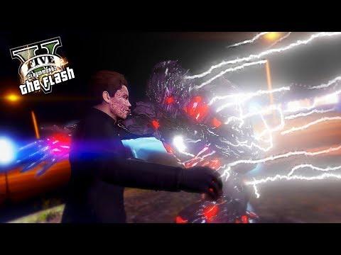 Savitar VS Barry Allen ! Red Savitar Suit (GTA 5 Ultimate Flash Mod)