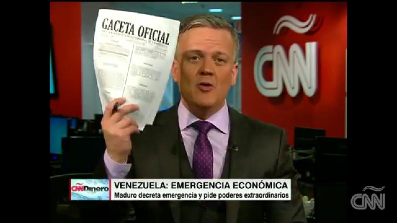 Venezuela estado de emergencia económica - YouTube